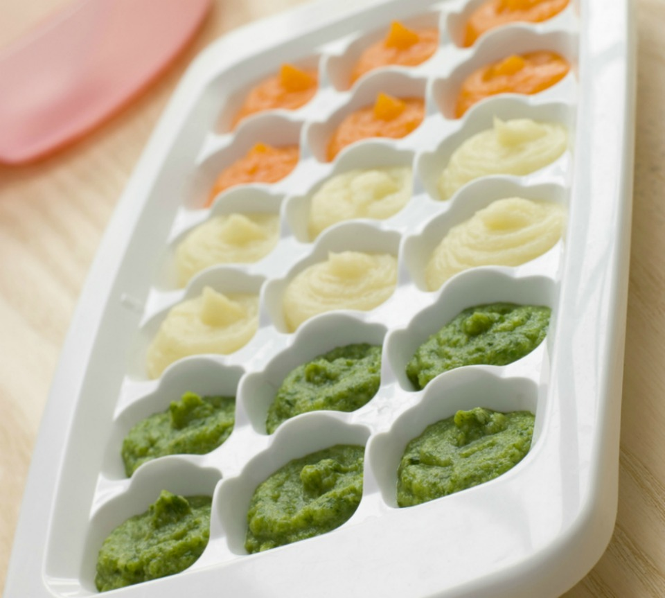 42 baby puree ideas for weaning your baby things to freeze in ice cube trays forumfinder Gallery