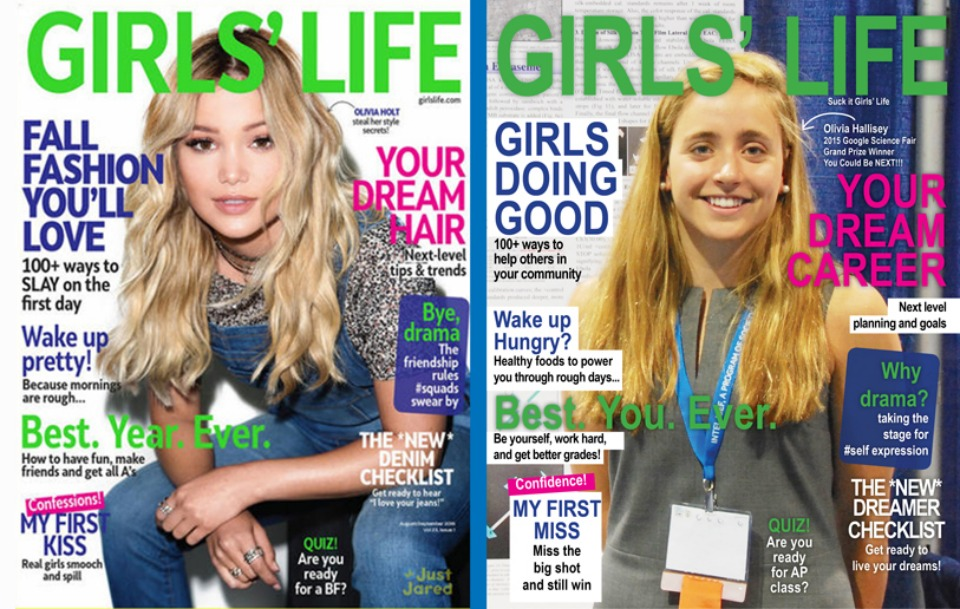 What Articles Girl's Life Magazine SHOULD Be Writing.