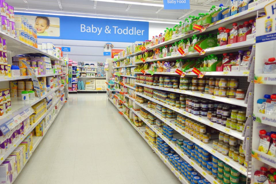 What is in commercial baby food
