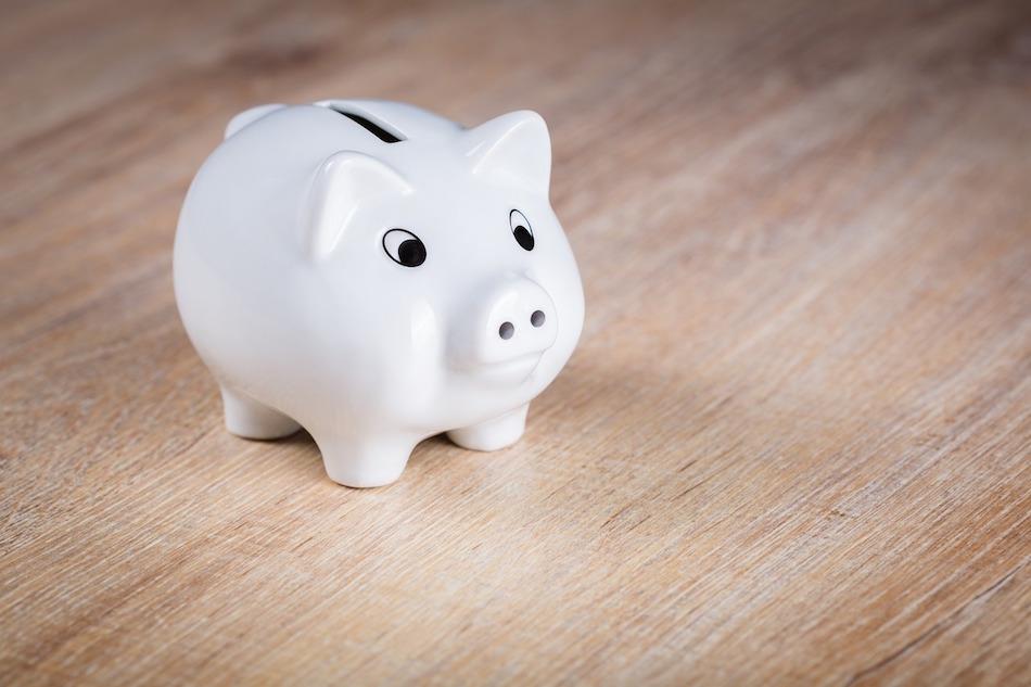 money saving tips pig