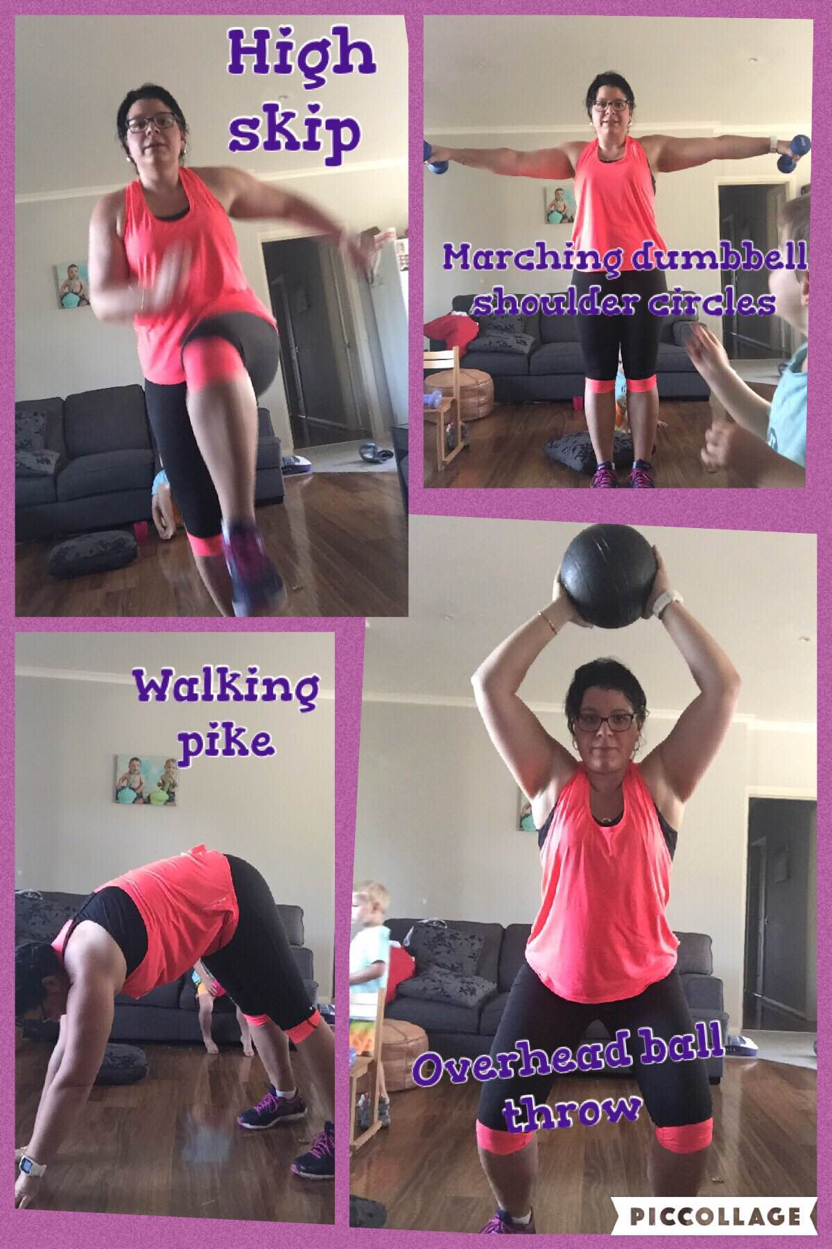 Nicola-Green-completing-Healthy-Mummy-28-day-challenge-exercises