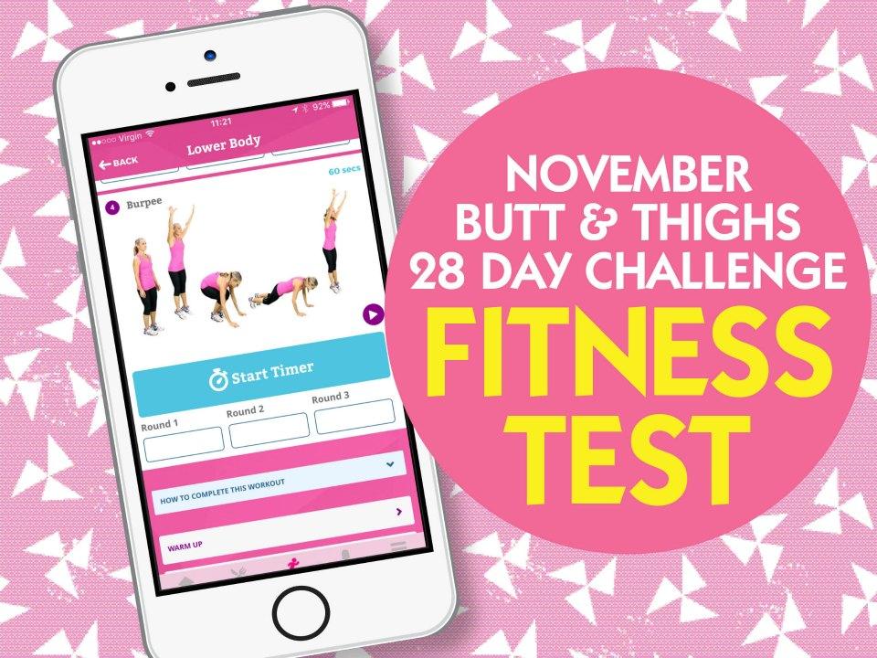 November fitness test