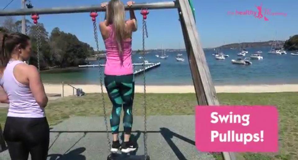Swing pullups
