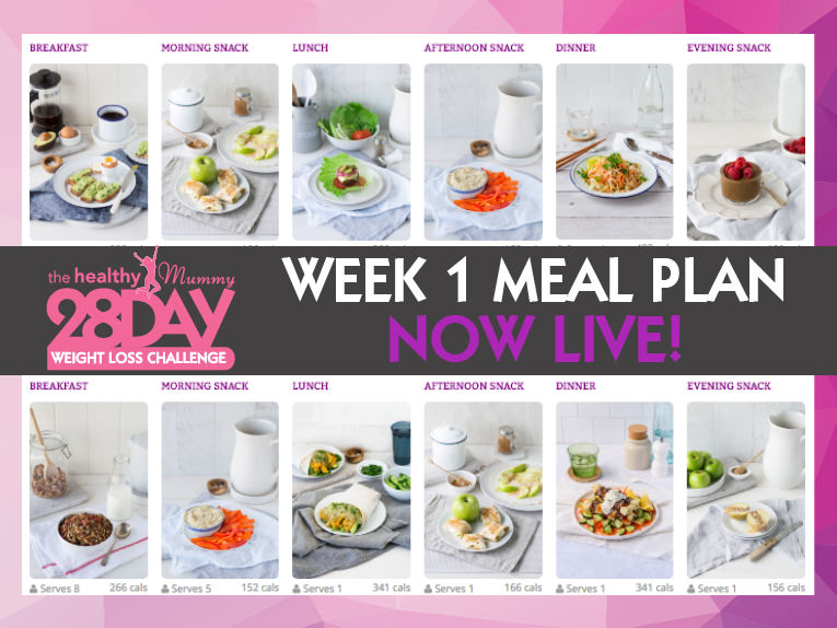 Week 1 Meal Plan