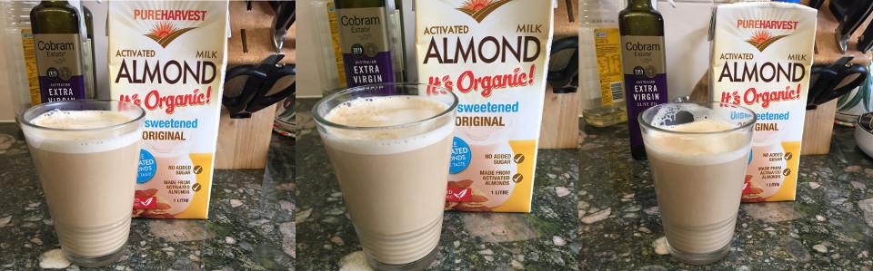 almond milk review