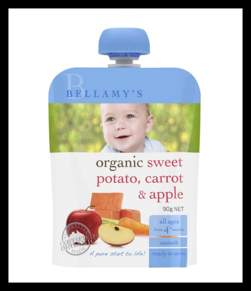 bellamys 5 Baby Foods Without Added Sugar