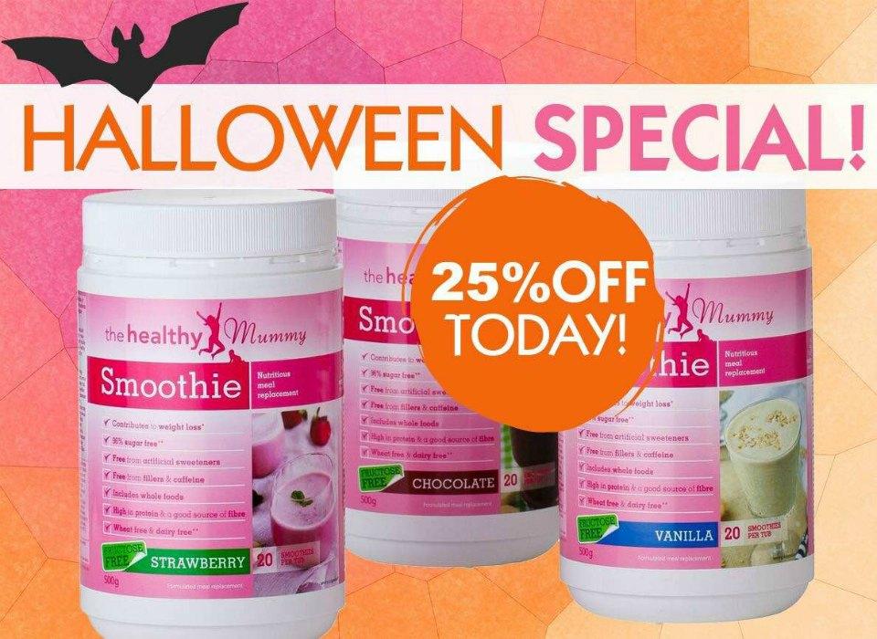 halloween smoothie offer