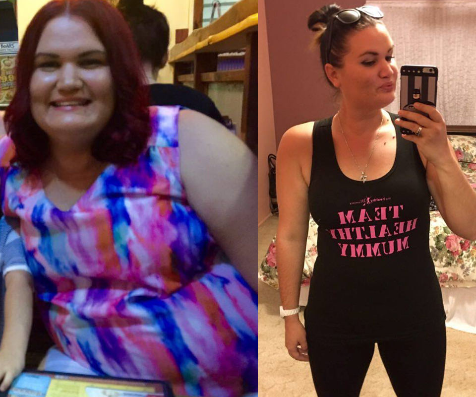 renee loses 41kg healthy mummy plan