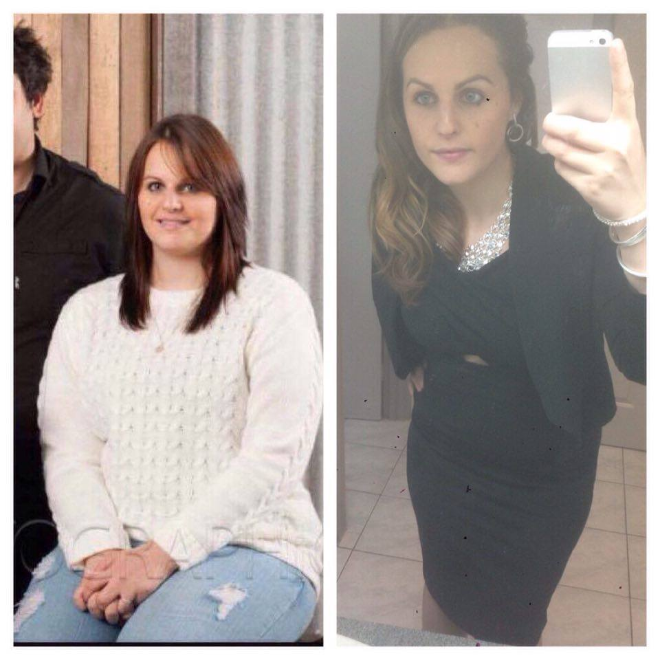 samantha cripps loses 15kg with Healthy Mummy smoothies