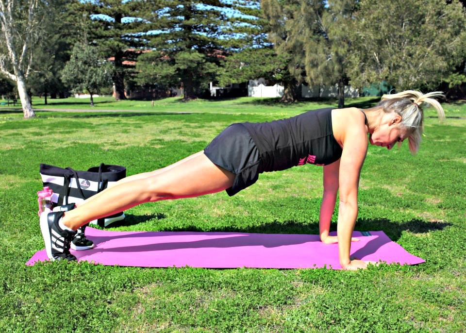 tummy taming exercises