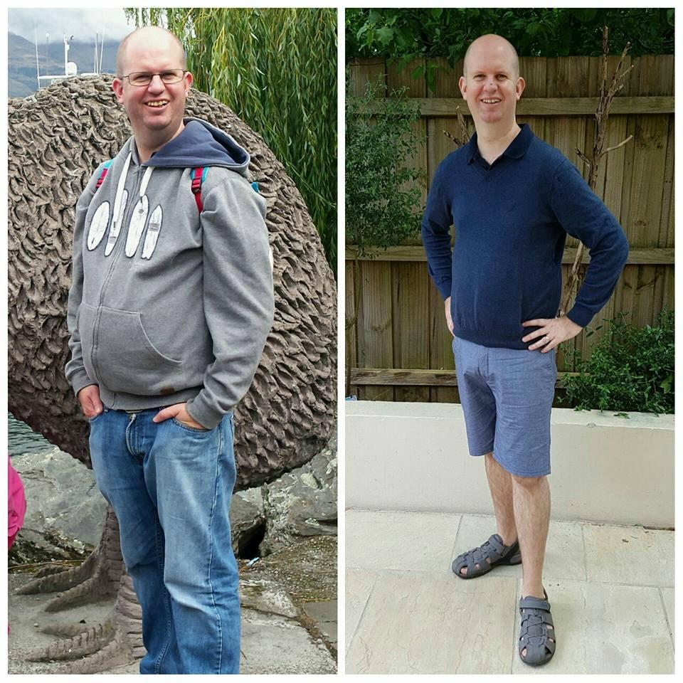 Simon Bismark TMT weight loss