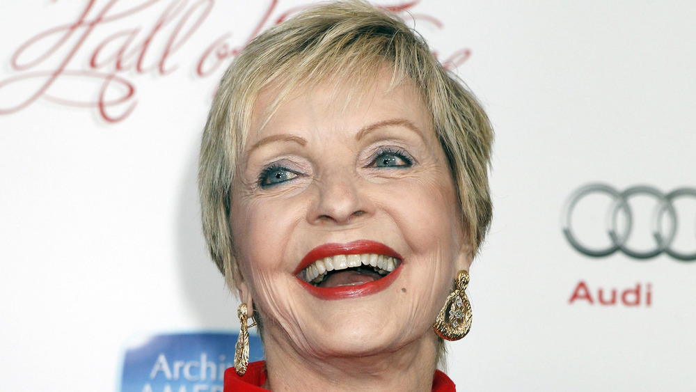 Florence Henderson poses in Beverly Hills