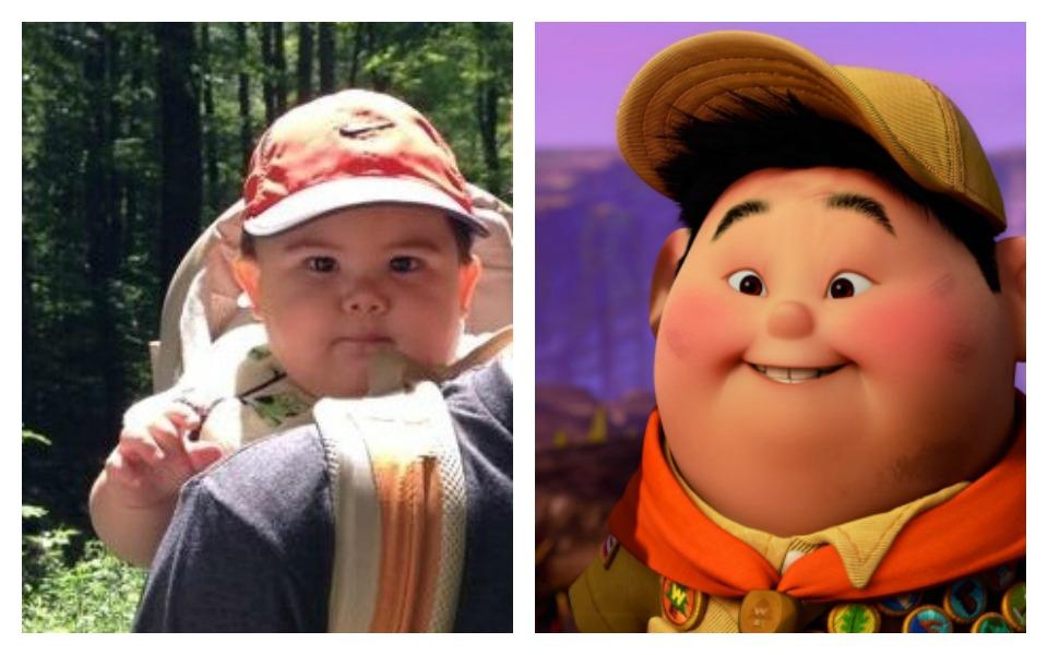 celebrity look alike Russell