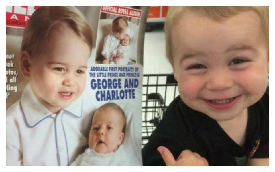 celebrity look alike george