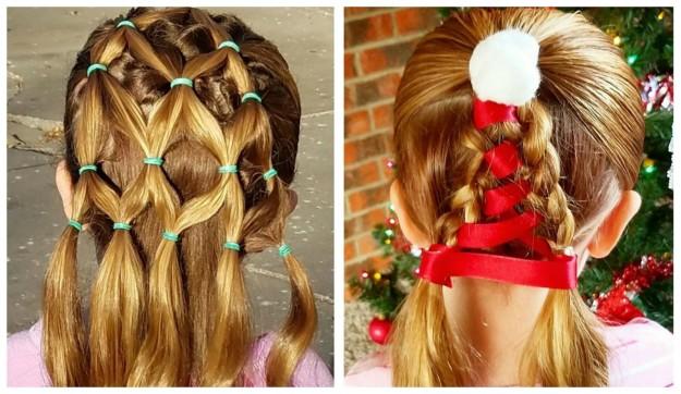 christmas hair styles