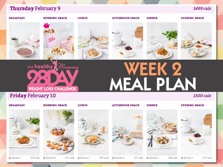 feb week 2 meal plan