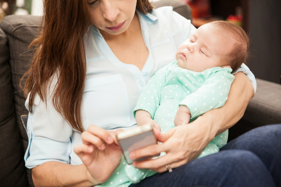 A new study has revealed that mums spend nearly 12 hours a week accessing social media on various digital devices.
