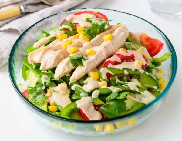 Fresh And Tasty Southwest Chicken Salad