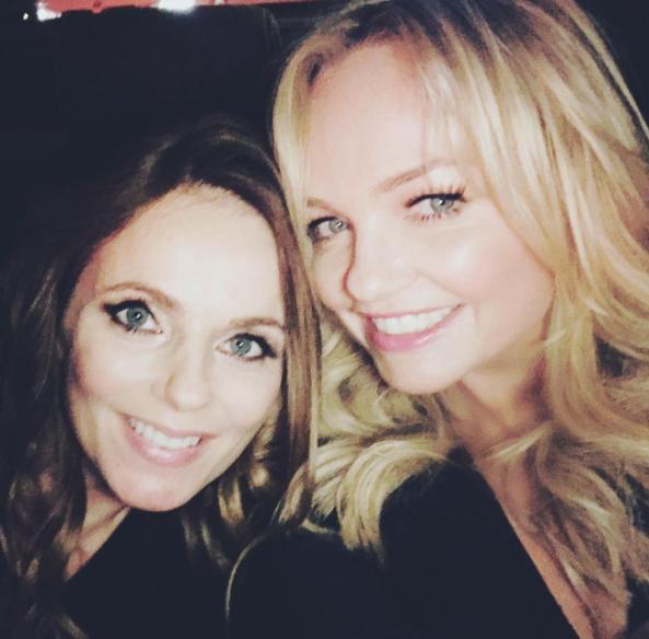 Mini Spice Girls Reunion! Emma Bunton Attends Geri Horner's Baby Shower