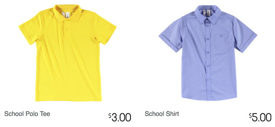 Kmart Back To School Basics