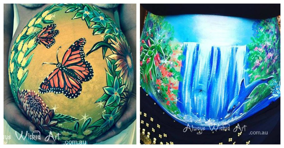 belly art robyn monarch