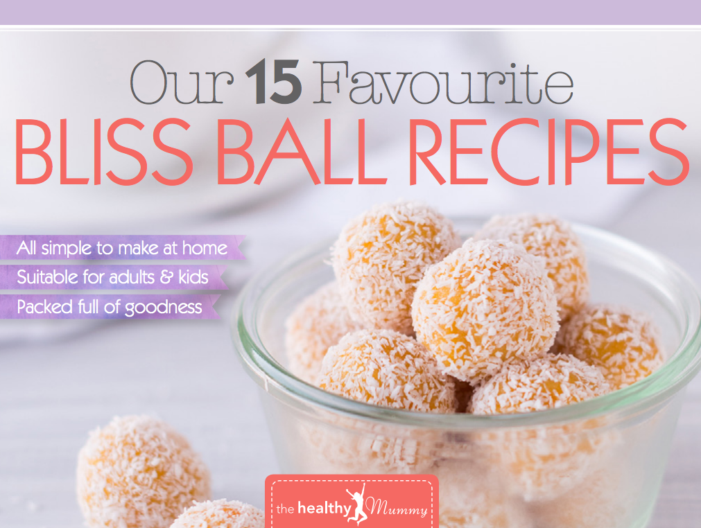 bliss ball recipe pack