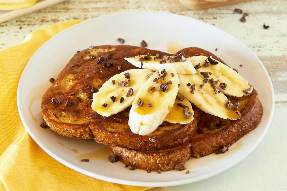 choc-banana-healthy-toast
