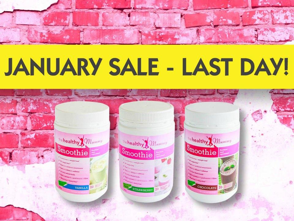 last day of Jan sale