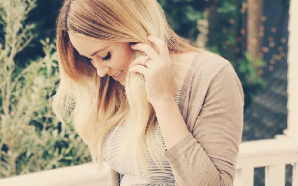 lauren conrad baby bump feature