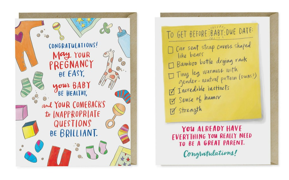 parenting support cards pregnancy