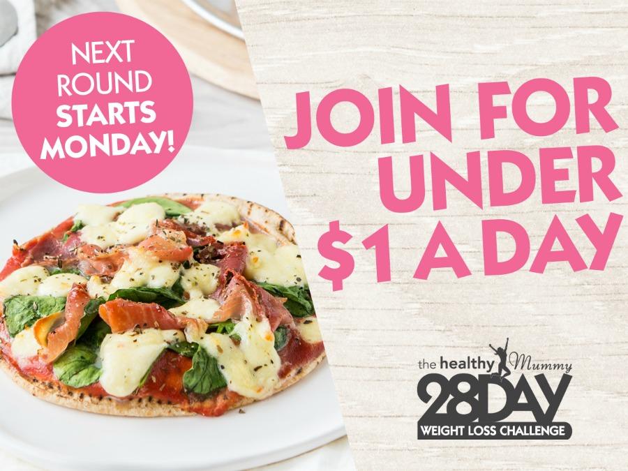 pizza $1 28 Day challenge