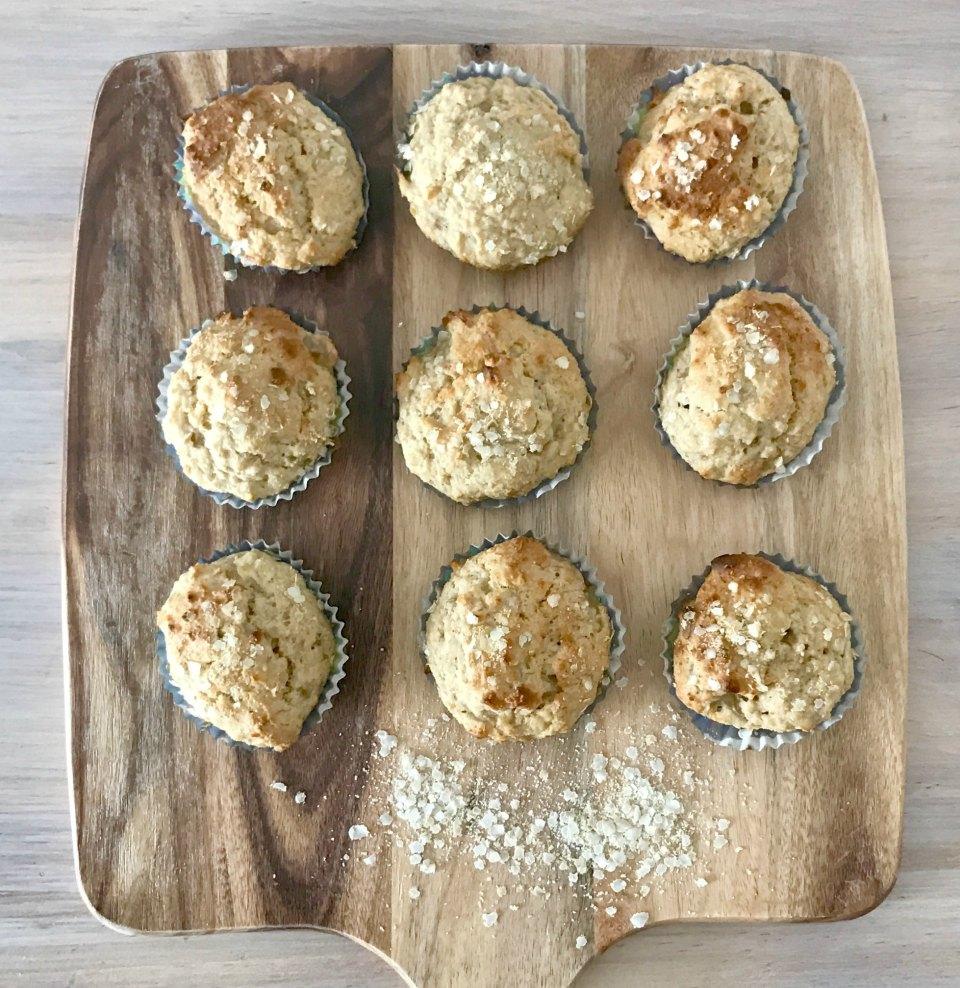15 Minute Banana Honey Mini Lunchbox Muffins