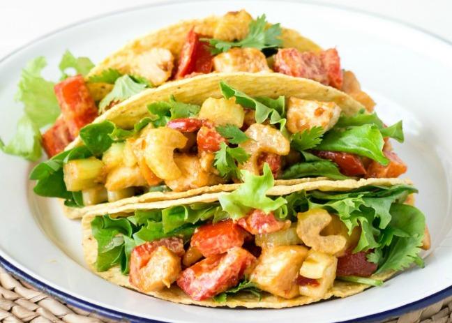 15-Minute-Chicken-Satay-Tacos