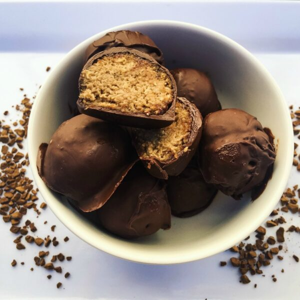 Six Ingredient Coffee Truffles Just 90 Calories