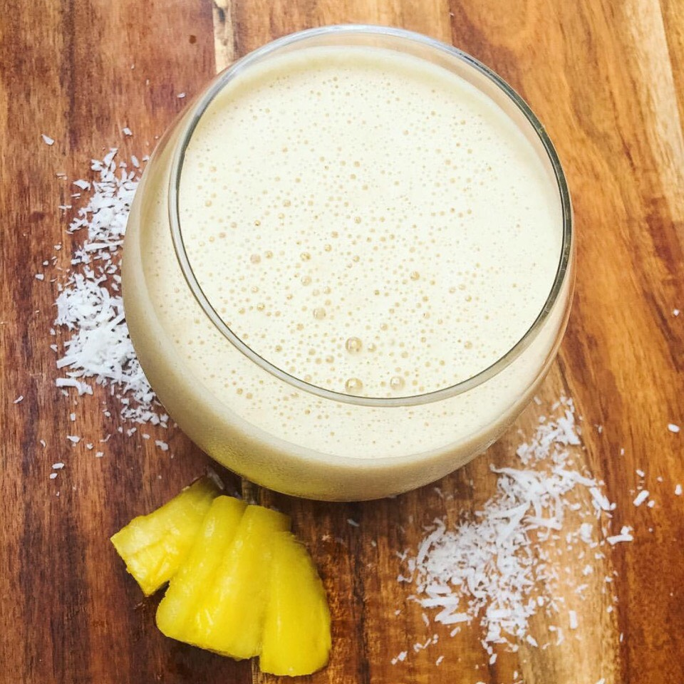Caramel Toffee Pineapple Smoothie