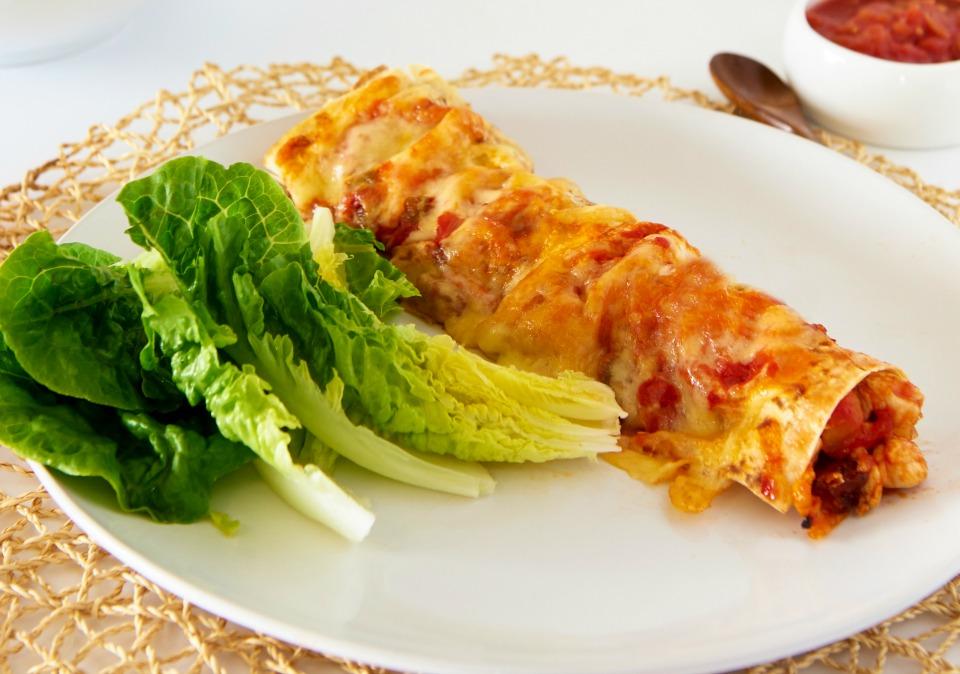 Chicken & Chorizo Enchiladas
