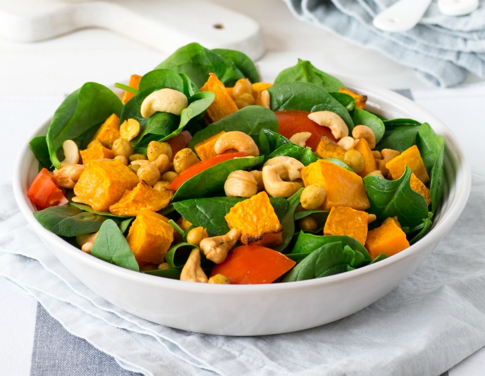 Chickpea-and-Pumpkin-Salad