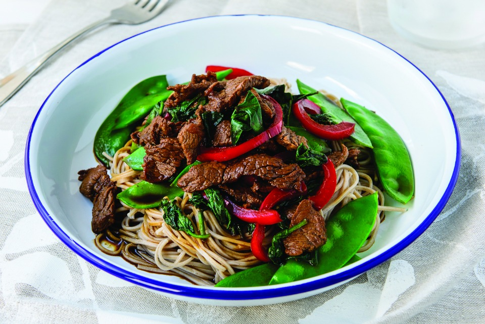 Chinese Beef And Snow Pea Stir Fry
