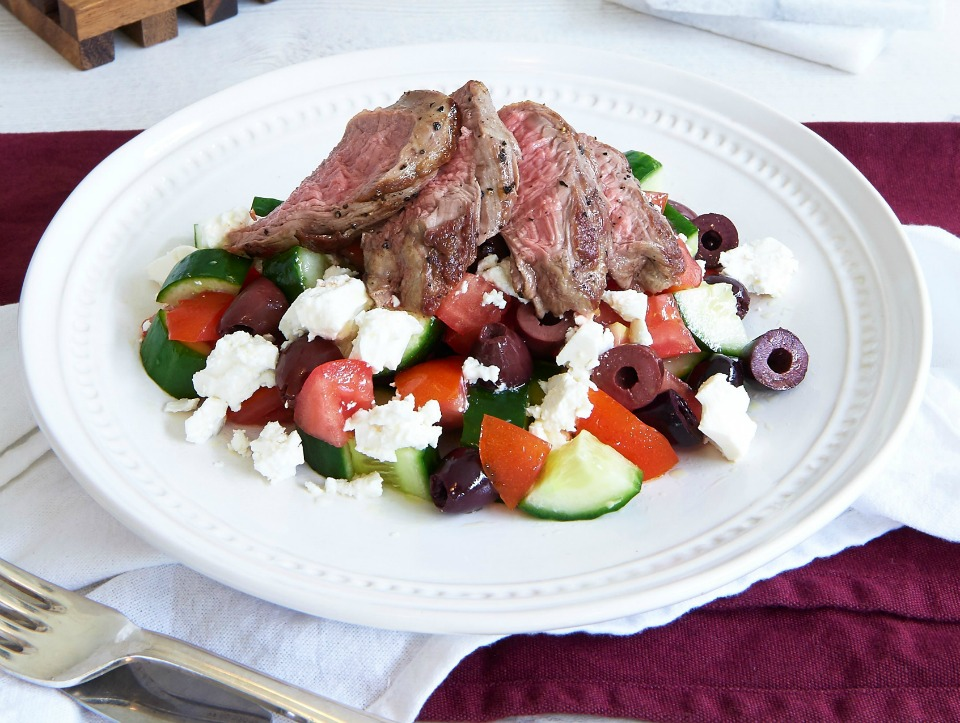 Lamb Greek Salad