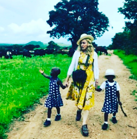 Madonna opens up about twin girls she adopted