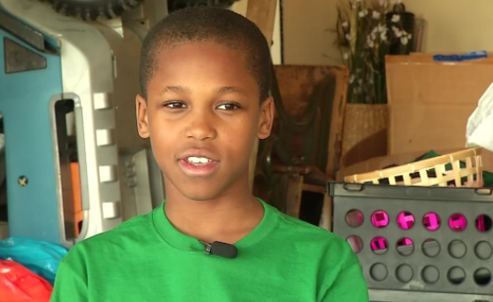 Ten-year-old Invents Car Gadget To Help Save The Lives Of Infants