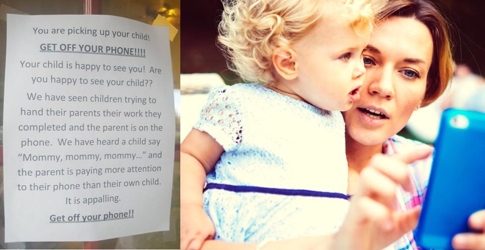childcare note