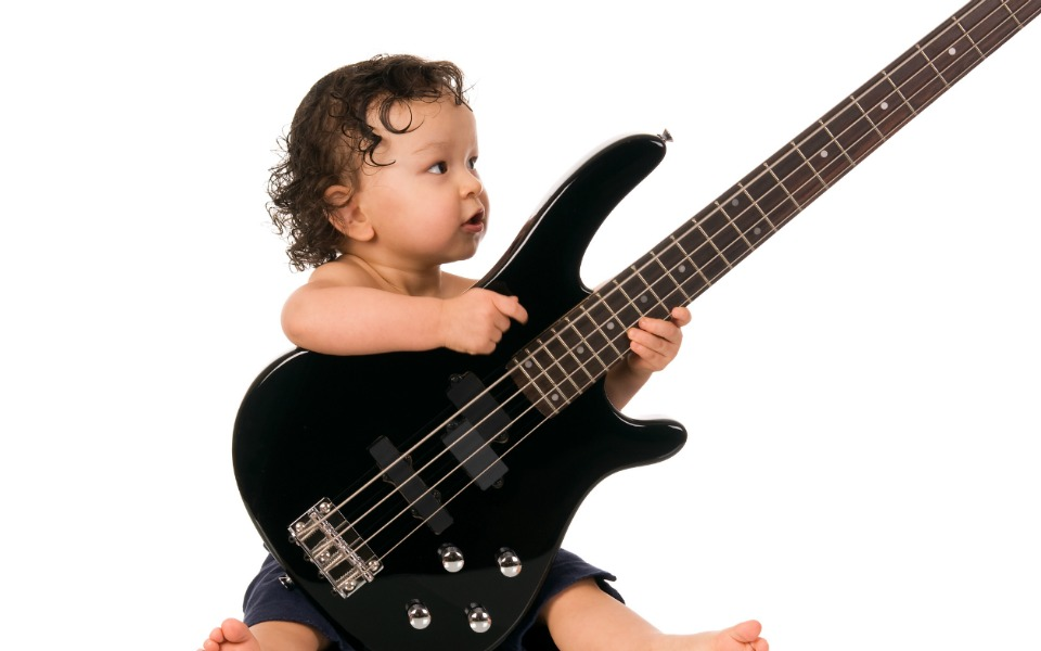 rock 'n roll baby names guitar