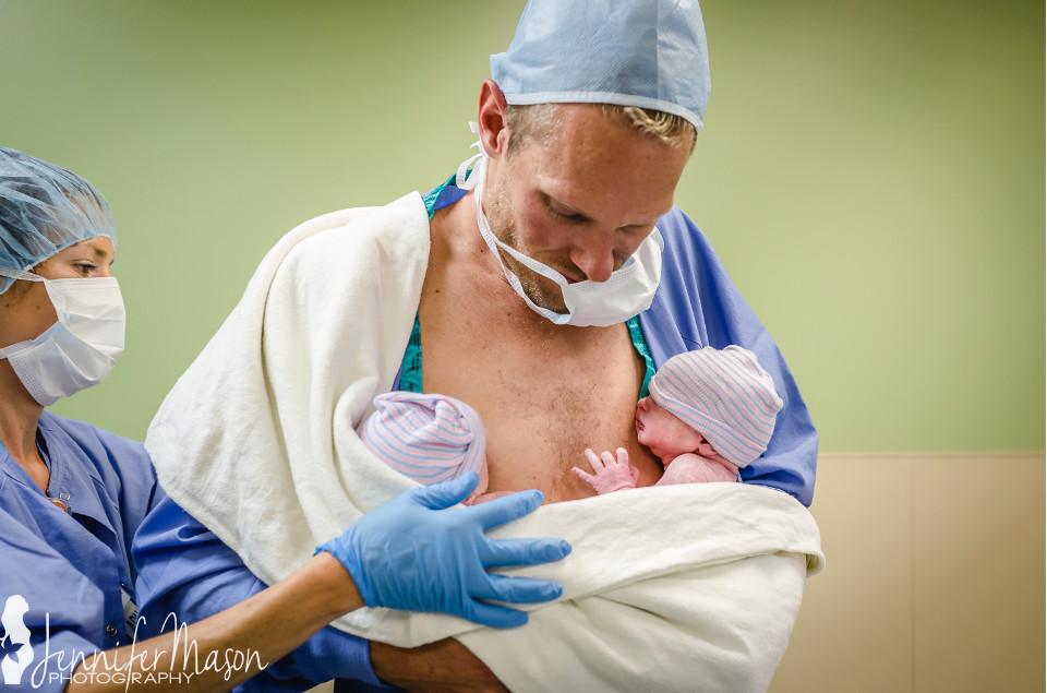twin births
