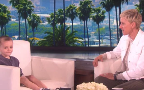 Watch This Cute 5 Year Old Show Off His Epic Geography Knowledge On Ellen!