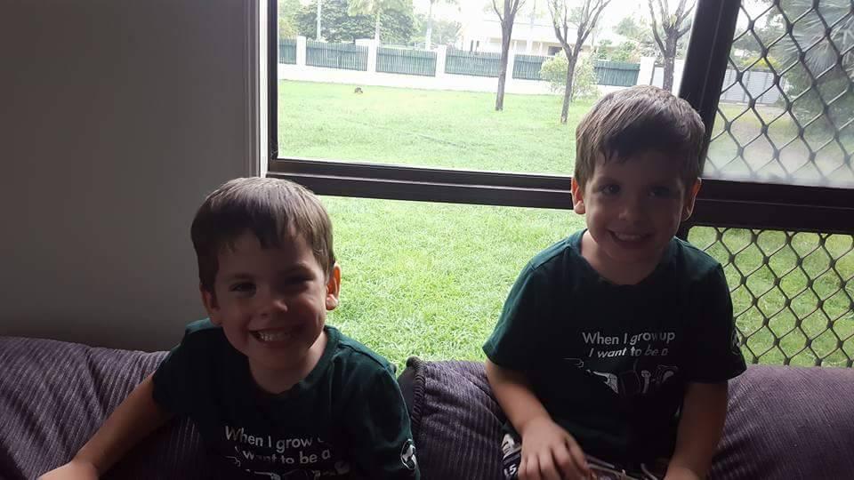 Elyce's twins