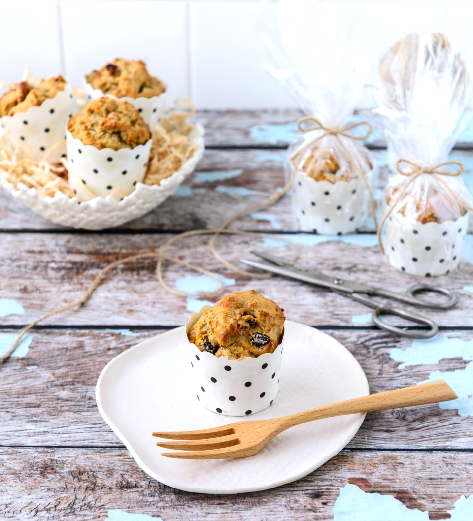 Fruity Spiced Easter Muffins