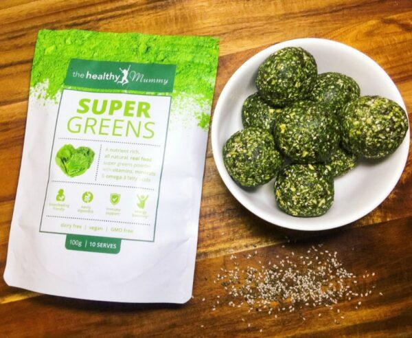 Super Greens Energy Balls