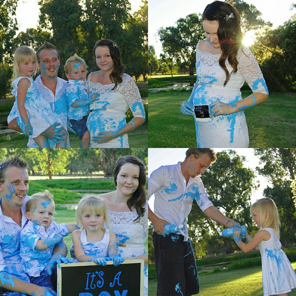 baby-gender-reveal-paint-fight-via-Stephaniie-Fischer