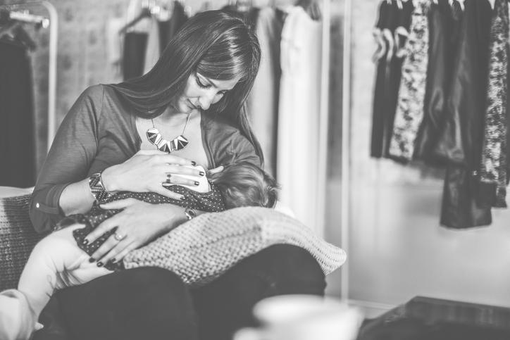 breastfeeding in public.